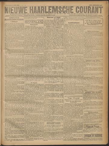 Nieuwe Haarlemsche Courant 1919-07-14