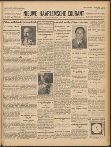 Nieuwe Haarlemsche Courant 1934-04-14