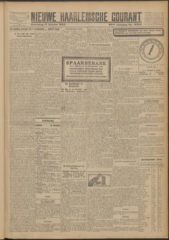 Nieuwe Haarlemsche Courant 1923-10-17