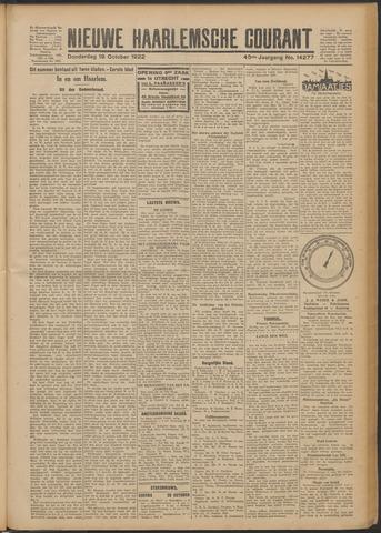 Nieuwe Haarlemsche Courant 1922-10-19