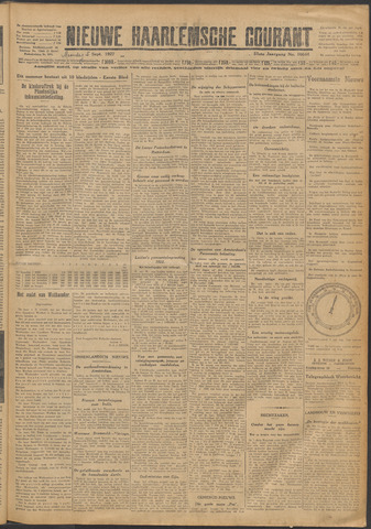 Nieuwe Haarlemsche Courant 1927-09-05