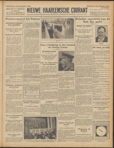 Nieuwe Haarlemsche Courant 1936-01-20