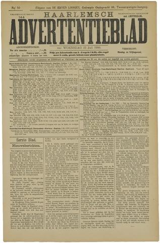 Haarlemsch Advertentieblad 1900-07-25