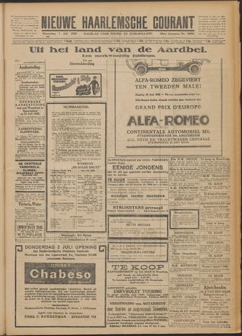 Nieuwe Haarlemsche Courant 1925-07-01