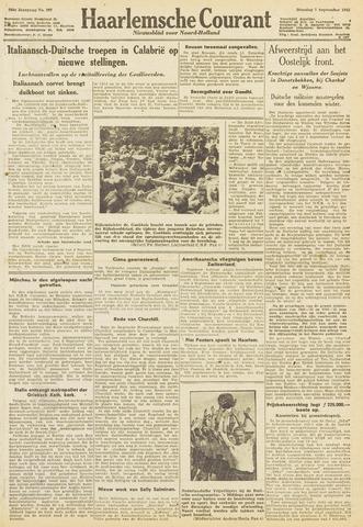 Haarlemsche Courant 1943-09-07