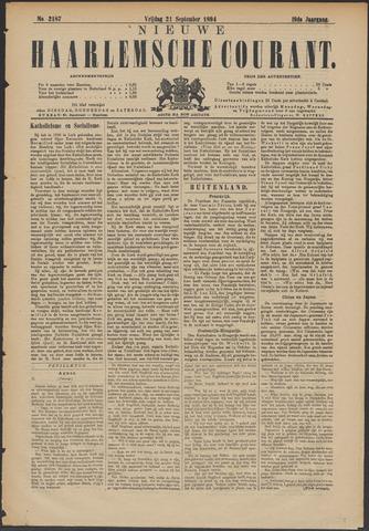 Nieuwe Haarlemsche Courant 1894-09-21
