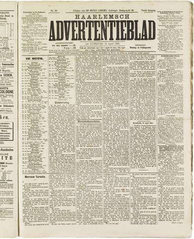Haarlemsch Advertentieblad 1882-04-15