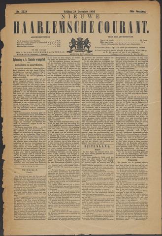 Nieuwe Haarlemsche Courant 1894-12-28
