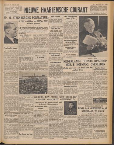 Nieuwe Haarlemsche Courant 1951-02-19