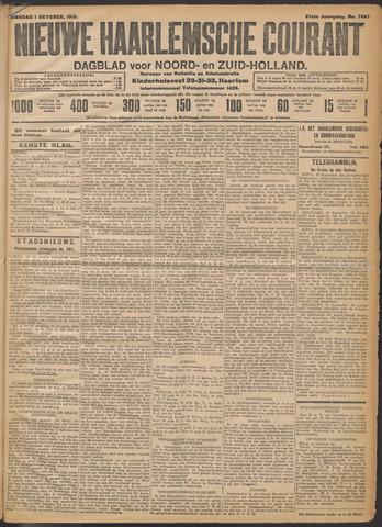 Nieuwe Haarlemsche Courant 1912-10-01