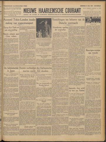 Nieuwe Haarlemsche Courant 1940-07-18