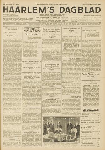 Haarlem's Dagblad 1935-12-11
