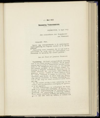 Raadsnotulen Heemstede 1912-05-21