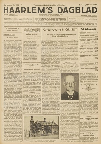 Haarlem's Dagblad 1935-02-28