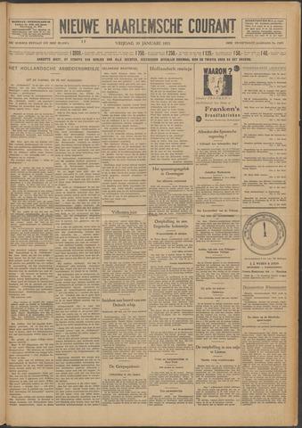 Nieuwe Haarlemsche Courant 1931-01-30