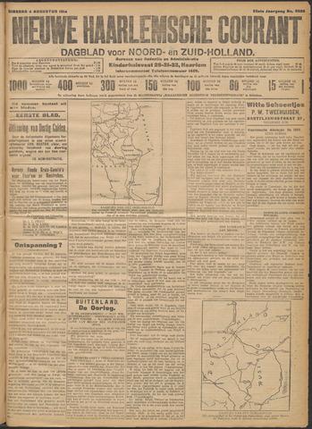 Nieuwe Haarlemsche Courant 1914-08-04