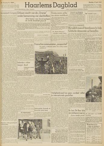 Haarlem's Dagblad 1947-04-05