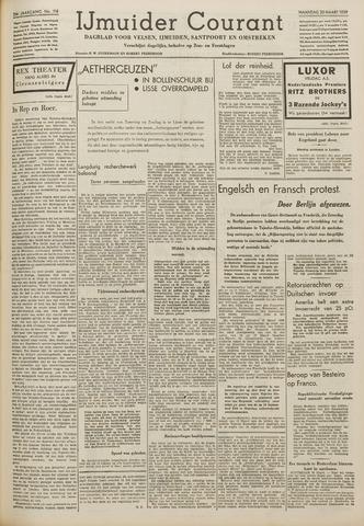 IJmuider Courant 1939-03-20