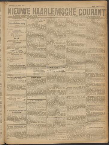 Nieuwe Haarlemsche Courant 1919-04-30