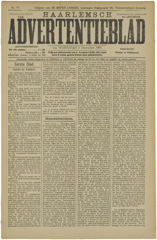 Haarlemsch Advertentieblad 1900-12-05