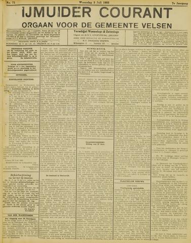 IJmuider Courant 1922-07-05