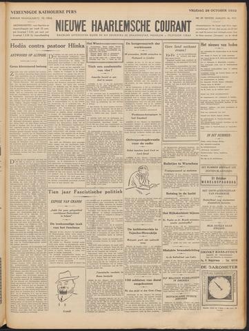 Nieuwe Haarlemsche Courant 1932-10-28
