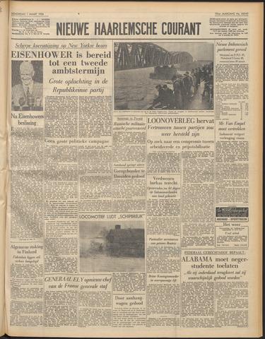 Nieuwe Haarlemsche Courant 1956-03-01