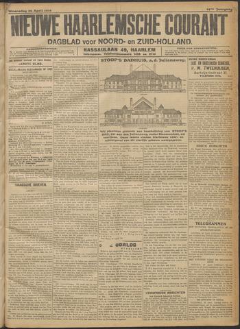 Nieuwe Haarlemsche Courant 1916-04-26