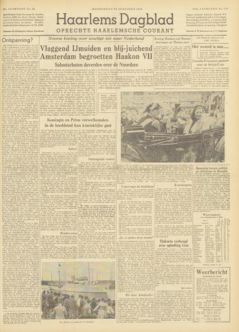 Haarlem's Dagblad 1954-08-12