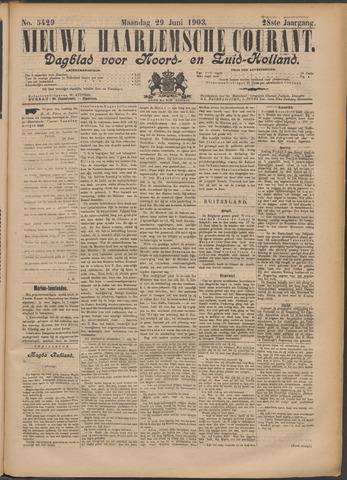 Nieuwe Haarlemsche Courant 1903-06-29