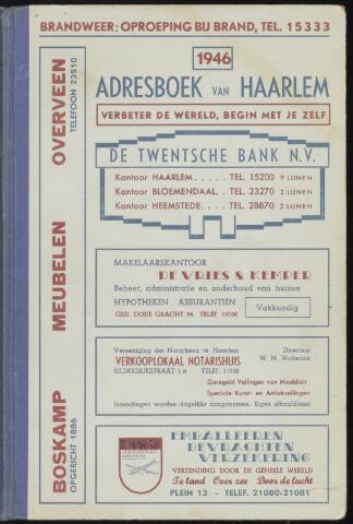 Adresboeken Haarlem 1946