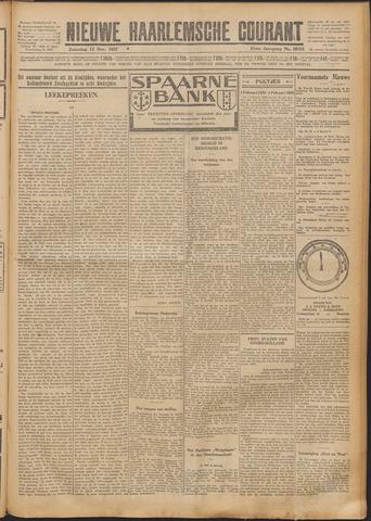 Nieuwe Haarlemsche Courant 1927-11-12