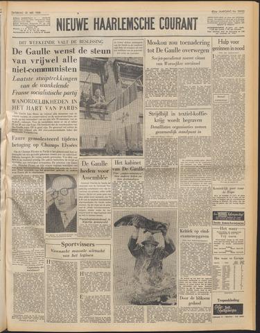 Nieuwe Haarlemsche Courant 1958-05-31