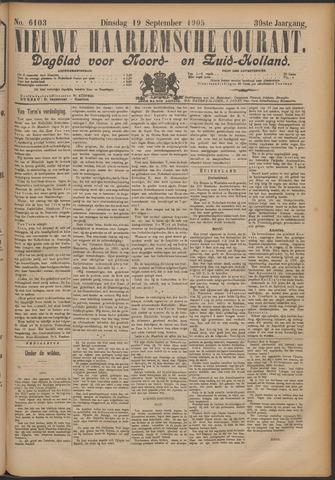 Nieuwe Haarlemsche Courant 1905-09-19