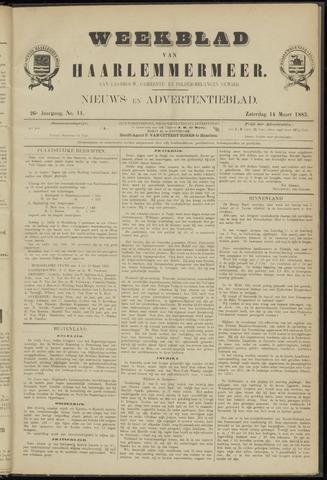 Weekblad van Haarlemmermeer 1885-03-14