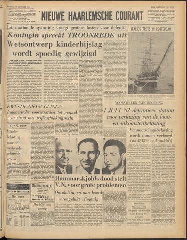 Nieuwe Haarlemsche Courant 1961-09-19
