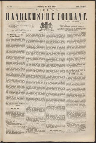 Nieuwe Haarlemsche Courant 1885-03-12