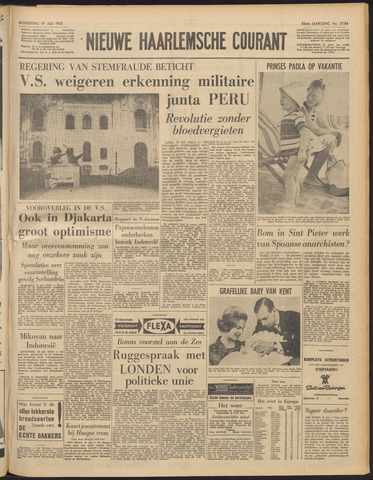 Nieuwe Haarlemsche Courant 1962-07-19