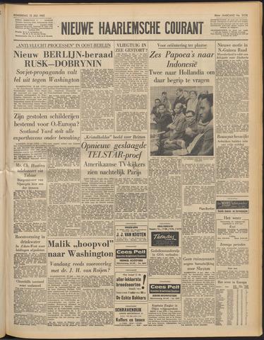 Nieuwe Haarlemsche Courant 1962-07-12