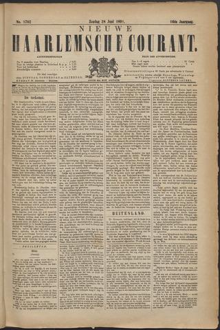 Nieuwe Haarlemsche Courant 1891-06-28