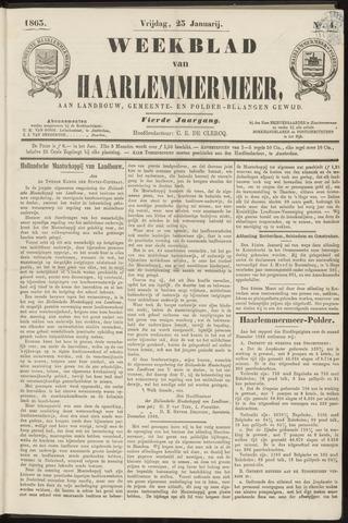 Weekblad van Haarlemmermeer 1863-01-23