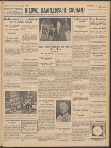 Nieuwe Haarlemsche Courant 1936-04-04