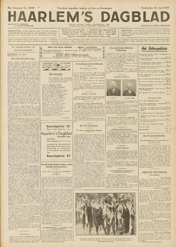 Haarlem's Dagblad 1935-04-25
