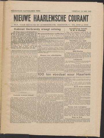 Nieuwe Haarlemsche Courant 1945-05-18