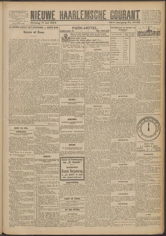 Nieuwe Haarlemsche Courant 1923-07-17
