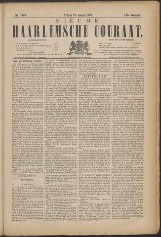 Nieuwe Haarlemsche Courant 1889-01-25
