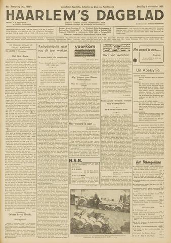 Haarlem's Dagblad 1935-11-05