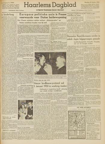 Haarlem's Dagblad 1950-10-23