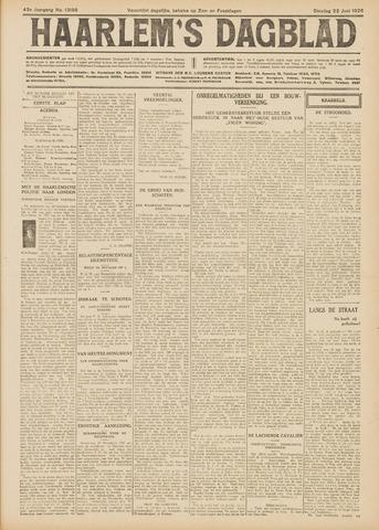 Haarlem's Dagblad 1926-06-22