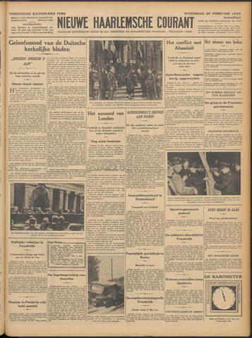 Nieuwe Haarlemsche Courant 1935-02-20